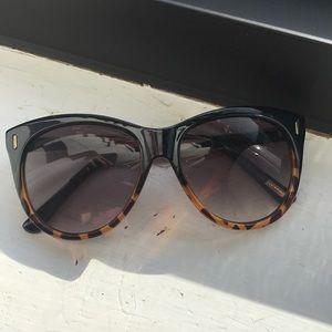 Oversized J Crew Cat Eye Sunglasses